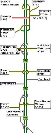 1980 Strip Map of the A74 II - Coppermine - 2156.JPG
