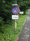 A18 Clearway End Sign - Coppermine - 12883.JPG