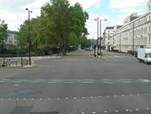 Vauxhall Bridge Road (A202) at A3212 - Geograph - 179360.jpg