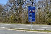A39 Atlantic Highway Speed Sign - Coppermine - 5444.jpg
