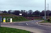 Road junction on the new Helston By-Pass - Geograph - 347864.jpg