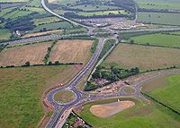 Thickthorn Interchange - Geograph - 73633.jpg