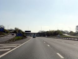 M42 Motorway at junction 3 - Geograph - 1818302.jpg