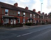 Row of houses, Millstone Lane, Nantwich - Geograph - 5169761.jpg