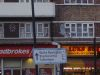 Wide blue edged sign, Amhurst Road, Hackney - Coppermine - 21489.jpg