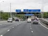 Southbound M20, Exit at Junction 5 - Geograph - 3708791.jpg