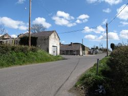 The staggered cross roads at Drumbilla - Geograph - 3453948.jpg