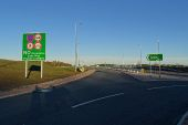 A90 AWPR - Milltimber Junction - Roundabout southbound exit.jpg