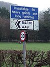 Out-of-date sign, Little Stretton - Coppermine - 23763.jpg