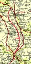 A1(M) map at Welwyn 1961 - Coppermine - 305.jpg