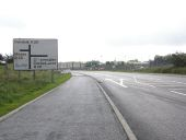 Junction on the A29 close to.Silverbridge - Geograph - 547754.jpg