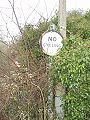 No Cycling Sign Hampton on the Hill - Coppermine - 17026.JPG