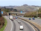 M3 motorway between Compton and Shawford - Geograph - 360683.jpg