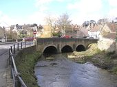Old bridge over the River Brue, Bruton - Geograph - 131423.jpg