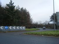 Roundabout at eastern end of Brecon bypass - Geograph - 2224742.jpg