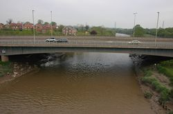 The new bridge at Over - Geograph - 435116.jpg