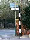 Old road sign, Clifton Street, Swindon - Geograph - 1099246.jpg