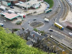 A2 & A20 roundabout - closer in view - Coppermine - 5897.JPG