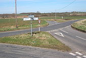 B1115 road junction - Geograph - 724634.jpg