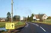 Entering Fettercairn via B974 - Geograph - 1613199.jpg