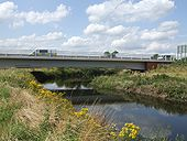 River Trent bridge on the Rugeley Bypass - Geograph - 1434868.jpg