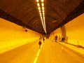 Walking through the Hindhead Tunnel.JPG