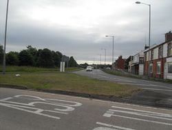 Chequerbent Roundabout - Geograph - 1948104.jpg