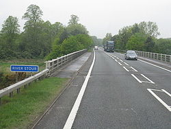 Crossing the River Stour - Geograph - 1843749.jpg