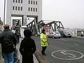A117 Woolwich Ferry on the North Circular Road - Coppermine - 4733.jpg