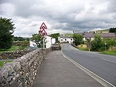 Hump-backed bridges in Horton in Ribblesdale - Geograph - 1766925.jpg