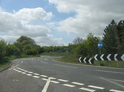 Junction 7 (M3) roundabout - Geograph - 1282786.jpg