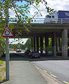 M3 bridge over B3411 Frimley Road - Geograph - 527478.jpg