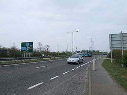 The A414 junction with the A1.jpg