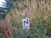 Double Bend sign. - Coppermine - 21316.JPG