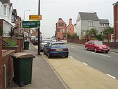 A4600 Confirmation Sign Coventry - Coppermine - 12503.jpg