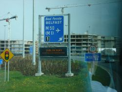 New Junction 1 of the M50 Motorway at the start of the Port Tunnel - Coppermine - 11189.JPG