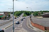 View of A32 at Fareham - Geograph - 1929698.jpg