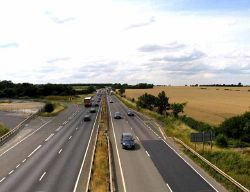 A14 towards Huntingdon - Geograph - 3591656.jpg