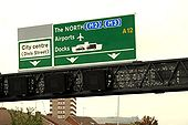 Gantry sign, Belfast - Geograph - 1489181.jpg