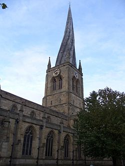 Church of the crooked spire (Church of Our Lady & All Saints ) - Geograph - 1066918.jpg