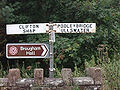 Fingerpost at Brougham near Penrith - Coppermine - 724.JPG