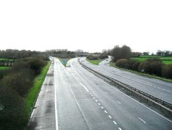 The M1 at Ballynacor - Geograph - 1591427.jpg