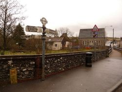 Tollerford- Whitehall finger-post - Geograph - 1785094.jpg