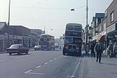 Portswood Road in early summer 1974 - Geograph - 754641.jpg
