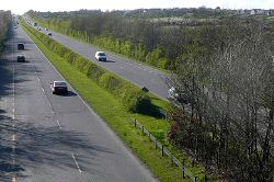 The former N6 nearing Galway - Geograph - 1267188.jpg