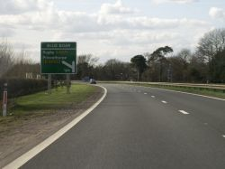 A45 west near Blue Boar.jpg