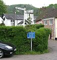 Old A38 - Signpost - Coppermine - 18315.jpg