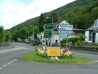 Arrochar village and junction - Geograph - 526417.jpg