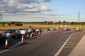 Queue for the toll - Geograph - 502398.jpg