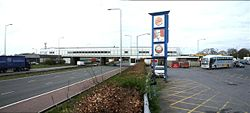 Service Station on M6 - Geograph - 402867.jpg